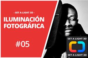 ILUMINACIÓN FOTOGRÁFICA EN SET A LIGHT 3D