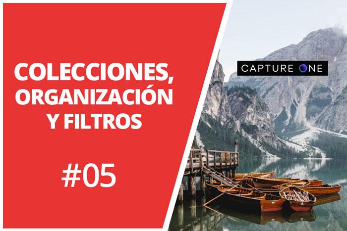 Colecciones de usuario, organización y filtros en Capture One