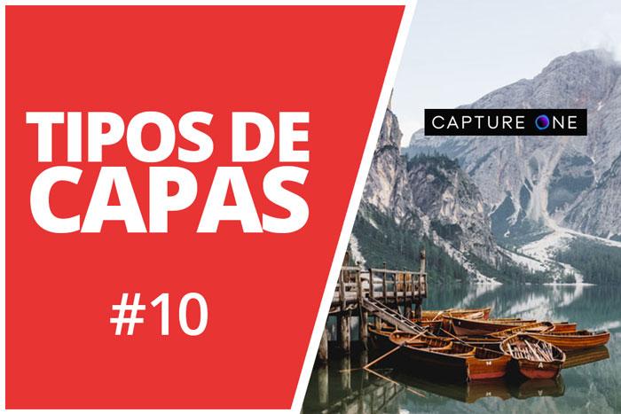 TIPOS DE CAPAS EN CAPTURE ONE PRO