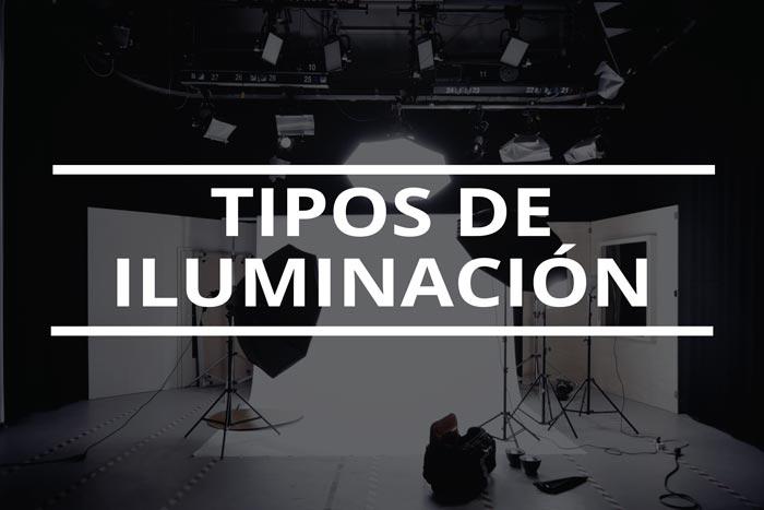 Tipos de iluminación en fotografía