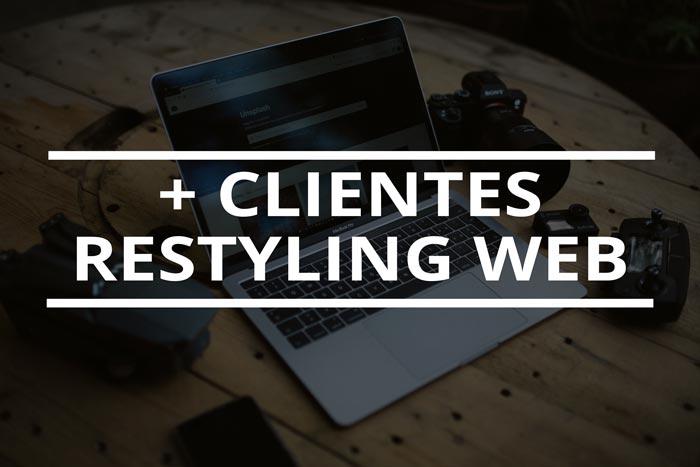 consigue clientes nuevos renovando la web