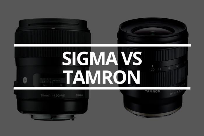 Sigma vs tamron