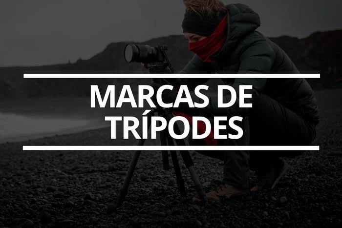Marcas de trípodes de fotografía