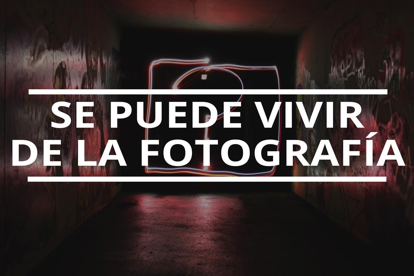 se puede vivir de la fotografía