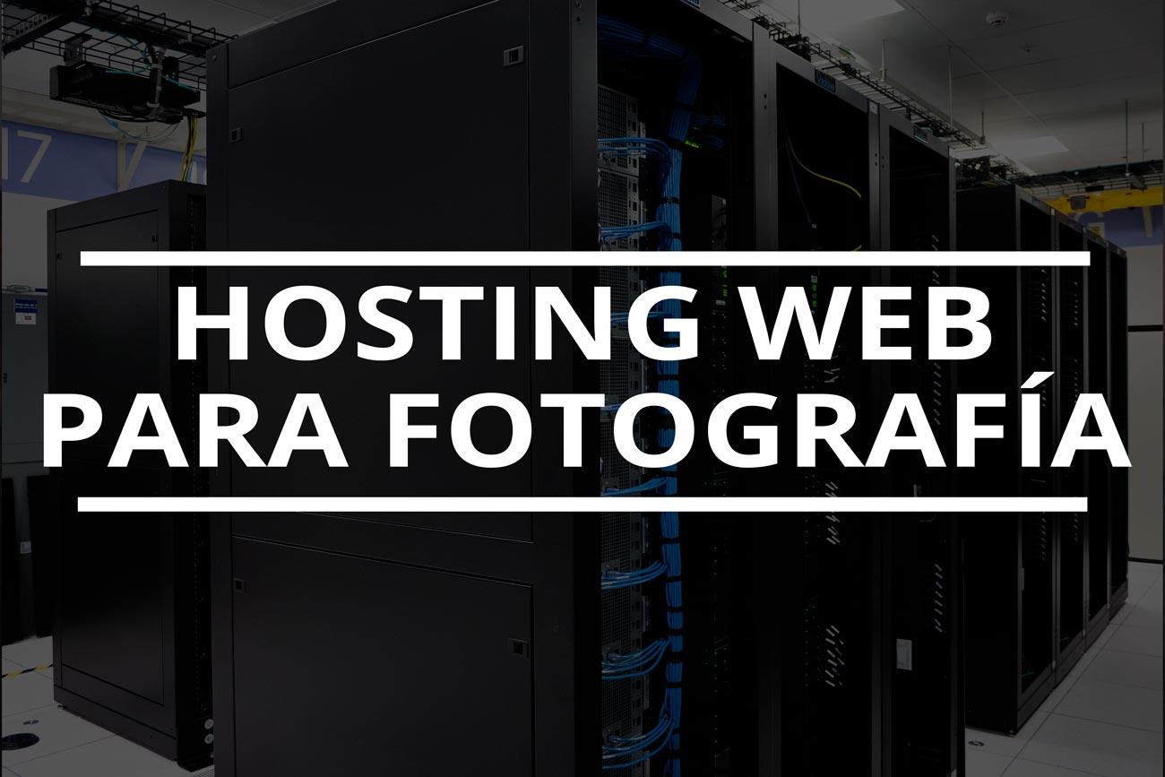 hosting para web de fotografía