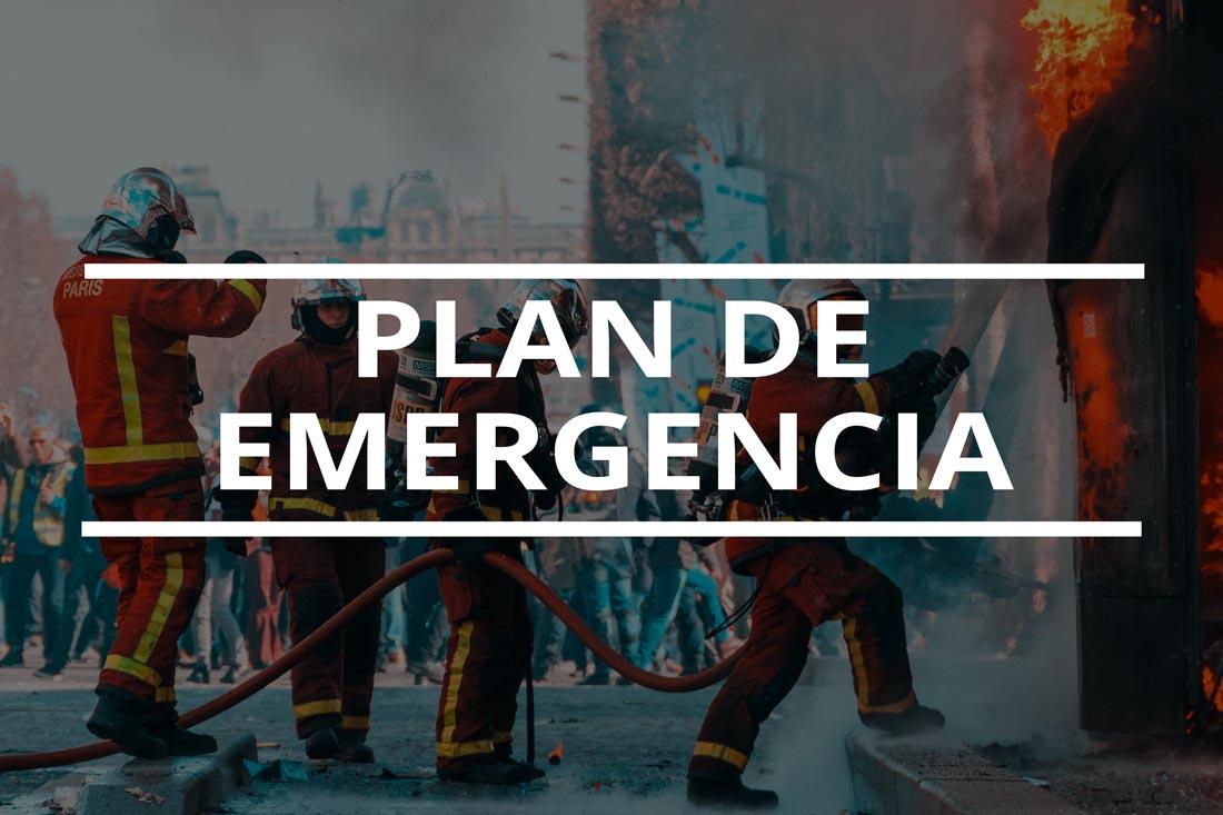 Plan de emergencia fotografía, las 3 claves