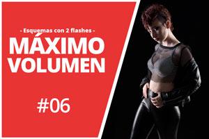 esquema de luz: MÁXIMO VOLUMEN