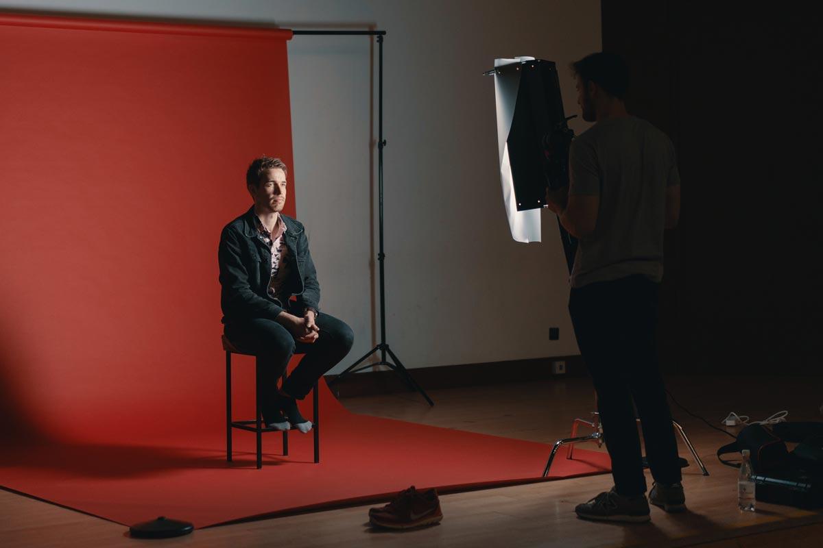 Como crear tu propio estudio de fotografia low cost